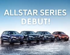 ヨーロッパの限定車「ALLSTAR」4モデル同時発売